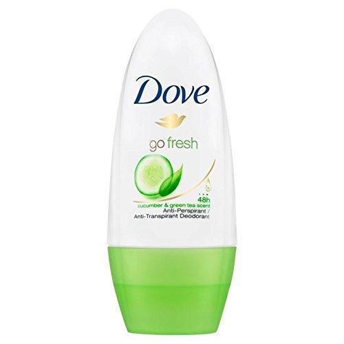 Dove Go Fresh Cucumber Roll-On Anti-Perspirant Deodorant 50ml (PACK OF 4)