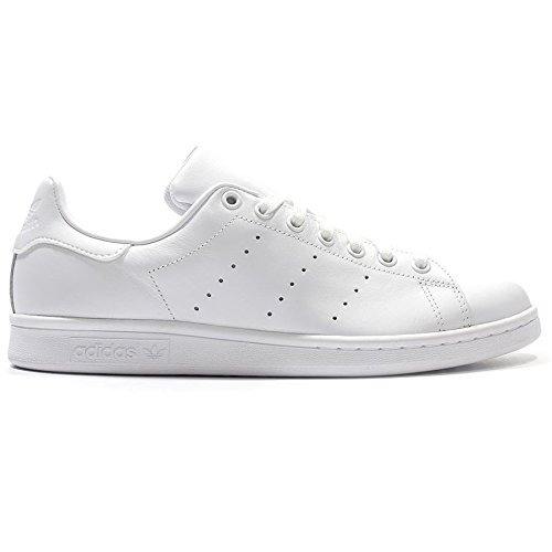 adidas Unisex Adults' Stan Smith Low-Top Sneakers, Ftwwht/Ftwwht/Ftwwht, 5 UK ()