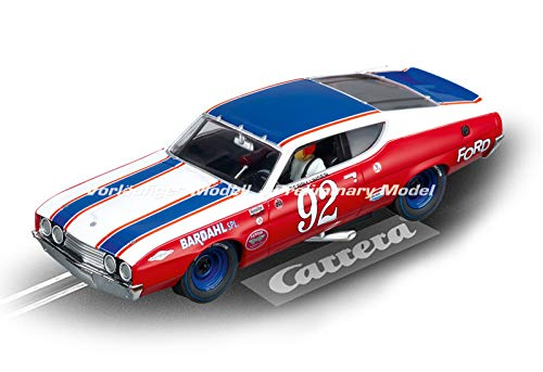 Amazon.com: Carrera Evolution 27556 Ford Torino Talladega Bobby Unser No. 92: Toys & Games