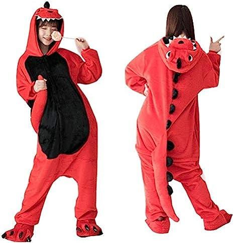 Pijama Unicornio Adulto Franela Kigurumi Bodies Dinosaurio for Adultos Spyro el dragón Pijamas de Las Mujeres de Dinosaurios Generales Total Onepiece ...