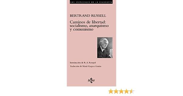 Caminos de libertad: socialismo, anarquismo y comunismo Filosofía ...