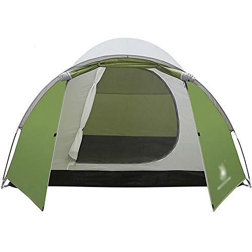 倫理一回ファンブル屋外テント、3-4人ダブルキャンプテント1つの部屋、1つの部屋、耐寒キャンプテントを設定する (色 : A)