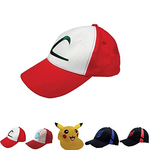 Noshi Outdoor Embroidered Ash Ketchum Baseball Hat -