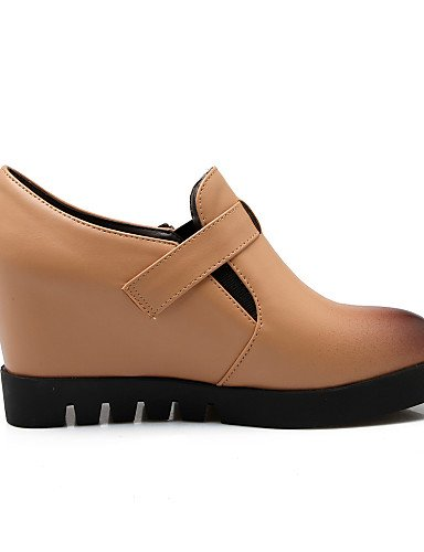 Almond a mandorla 5 Tacchi Shoes Eu39 Donna Nero Vestito us8 Hug Heels Plateau Tacco Leatherette Njx Zeppe 5 A Cn40 Uk6 wY60qx10