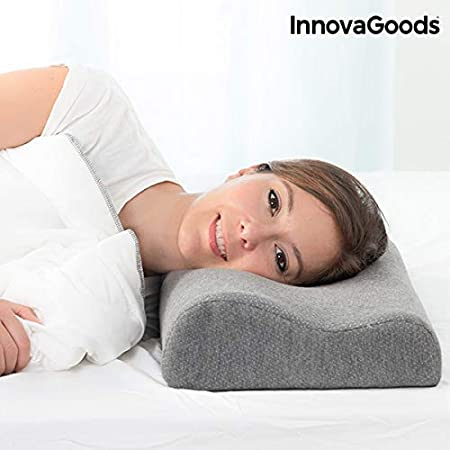 InnovaGoods Almohada Viscoelástica con Carbón de Bambú, Gris, 50 x 30 x 9 cm: Amazon.es: Hogar