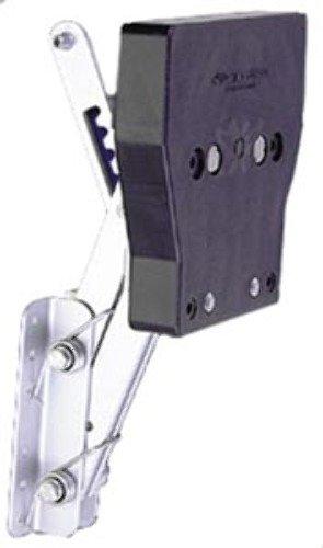 OUTBOARD MOTOR BRACKET, 7.5-20 HP-Auxiliary 2-Stroke Motor Bracket, (Garelick Auxiliary Outboard Motor Bracket)