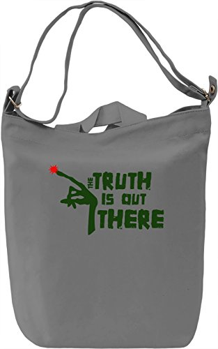 the Truth is out there Borsa Giornaliera Canvas Canvas Day Bag| 100% Premium Cotton Canvas| DTG Printing|