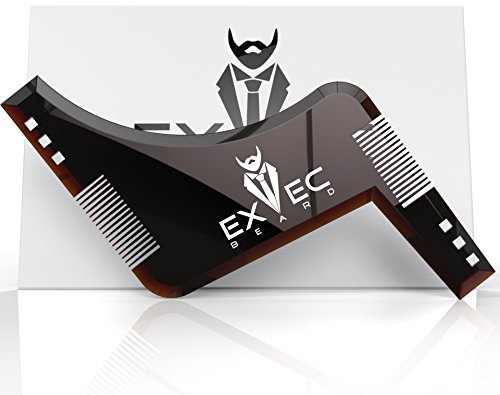 Exec Beard All in One Beard Comb and Shaping Template Tool