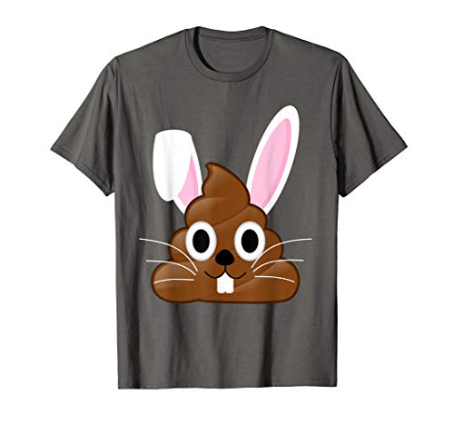 Funny Adorable I Love Easter Bunny Poop Emojis Shirt Gift