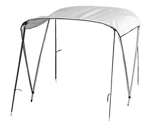 Saturn Deluxe Travel Folding 2-Bow Sun Canopy Bimini Tops for Inflatable Boats.
