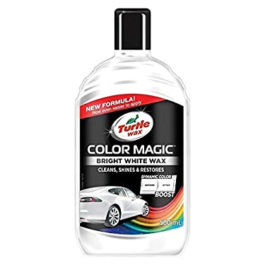 Turtle-Wax-52712-Color-Magic-Pulido-Y-Brillo-para-Pintura-Bianca-Blanca-500Ml