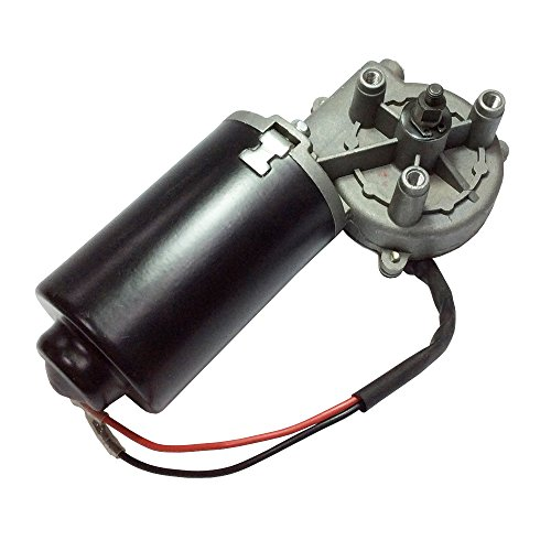 BEMONOC High Torque 12V PMDC Right Angle Reversible Electric Motor 45 RPM with Metal Gearbox for Garage Doors Motor by DC GEAR MOTOR