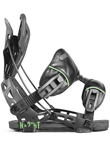 Flow NX2-GT Fusion Snowboard Binding Black, XL