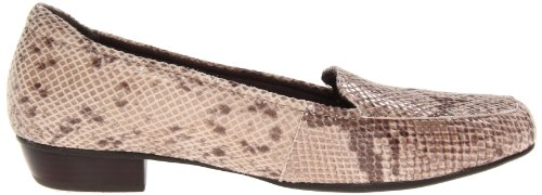 Clarks Womens Senza Tempo Loafer Natural Snake