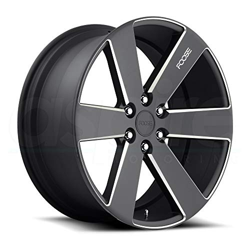 Foose F158 Switch Сustom Wheel - Black with Milled Accents 22