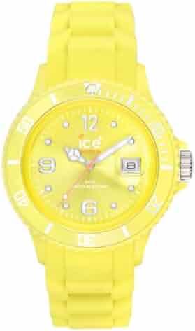 Ice-Watch SI.AA.B.S Big Sili Summer Aurora Dial Silicon Strap Watch