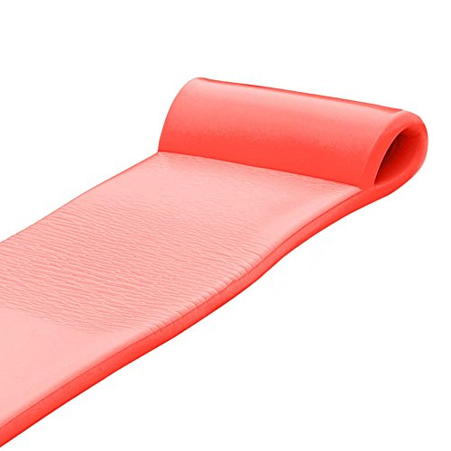 Texas Recreation Sunsation 70 Inch Foam Raft Lounger Pool Float, Caribbean Coral (2 Pack) by Texas Recreation (Image #4)