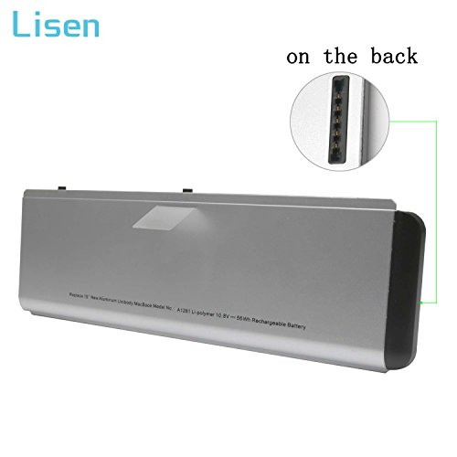 56Wh A1286 A1281 Laptop Battery for 2008 Apple MacBook Pro 15