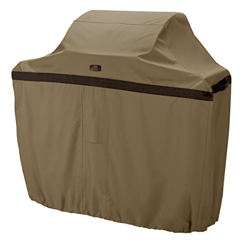 Classic Accessories Hickory Grill Cover - Rugged BBQ Cover with Advanced Weather Protection, Small, 44-Inch by Classic Accessories