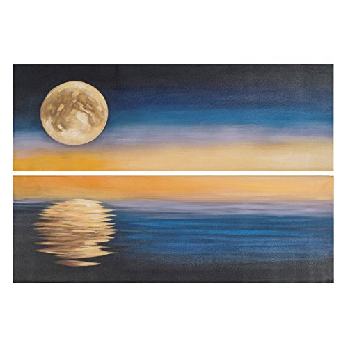 Moonscape Collection - Safavieh Art Collection Moonscape Diptych Wall Art