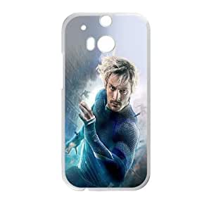 HTC One M8 Phone Case White Avengers Age Of Ultron Aaron Taylor Johnson Quicksilver TYTH3771668