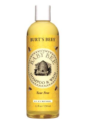 Les abeilles de Burt Baby Bee Shampooing & Wash, 12 onces liquides (pack de 3)