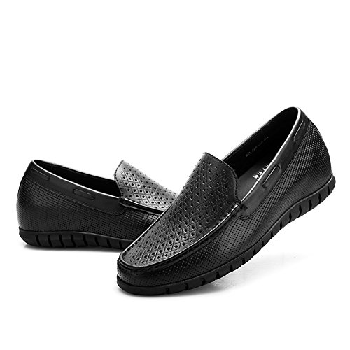 Chamaripa Altezza Crescente Scarpe Mens Driving Heel Lift Elevator Shoes 2.56 Taller H51333k122d