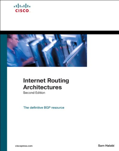 Price comparison product image Internet Routing Architectures (2nd Edition)