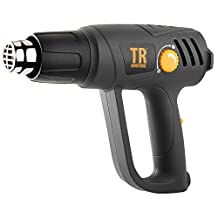 TR Industrial 89200 1500W Heat Gun Kit with Variable Temperature Control