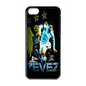 Soccer Barcelona Lionel Andr¡§|s Messi Football Club Classic Design Print Black Case With Hard Shell Cover for Apple iPhone 5C