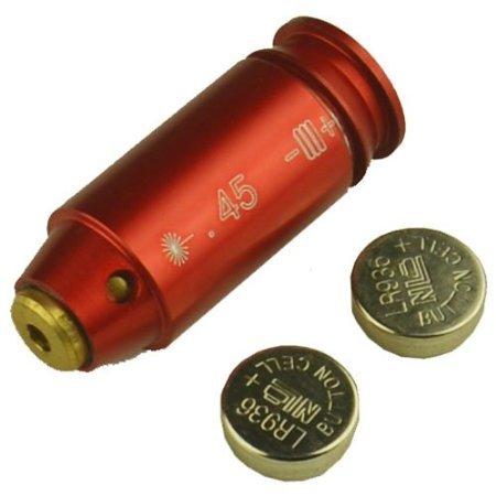 1 X .45ACP/.45 Cartidge Laser Bore Sighter