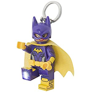 LEGO Batman Movie - Batgirl LED Key Chain Light - 41iyJuLnEaL - LEGO Batman Movie – Batgirl LED Keylite Minifigure