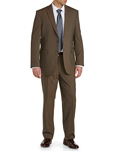 Big-Tall-Reflex-Solid-Nested-Suit-Executive-Cut-Taupe