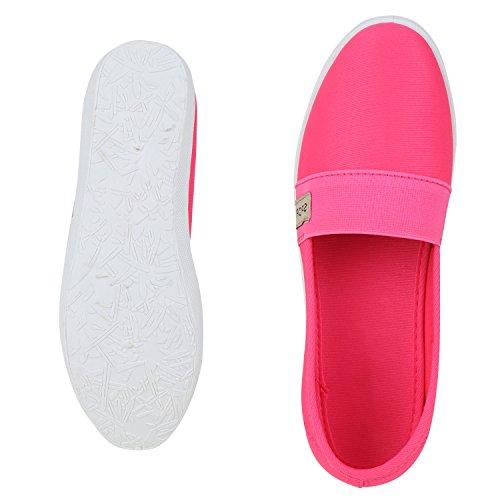 napoli-fashion - Mocasines Mujer Rosa