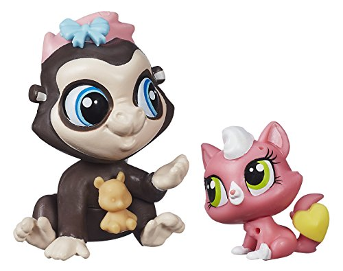 Hasbro Littlest Pet Shop Terrence Konga and Purl McSweene...