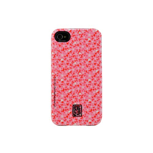 Paul Frank Tokyo Pink Garden DesignCapsule Hard Case for iPhone 4 and 4S, by Uncommon, C0005-AN  - 1 Pack - Retail Packaging - Multicolored