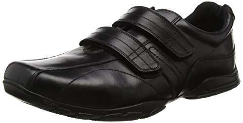 Black Negro Black para Hombre Hoddle Double Zapatillas Velcro Term n0YFq1