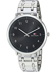 Tommy Hilfiger Mens SOPHISTICATED SPORT Quartz Stainless Steel Casual Watch, Color:Silver-Toned (Model: 1791336)