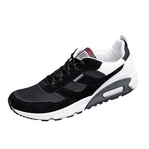 Fnkdor Chaussures De Sport Pour Hommes Espadrilles En Cours D'ex