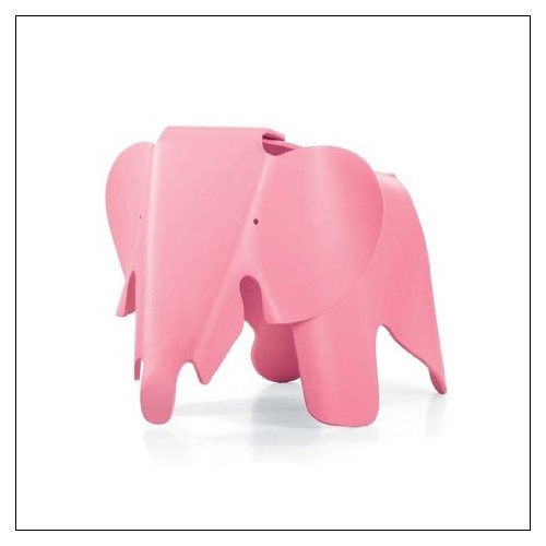 Eames Elephant by Vitra, Color = Light Pink