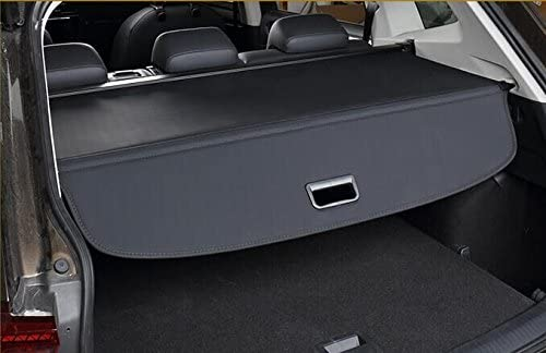 Cargo Cover for VW Volkswagen Tiguan 2018-2019 Black Trunk Shielding Shade by Kaungka Black Upgraded version:There is no gap between the back seats and the cover