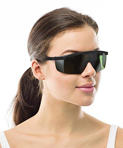 23c2117bcd8538 SafeLightPro F2 Lunettes de protection pour épilation au laser et lumière  pulsée  Amazon.fr  Hygiène et Soins du corps