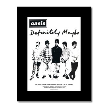 oasis definitely maybe poster - 7