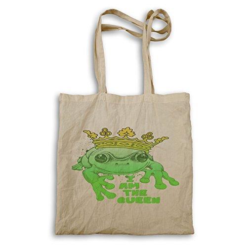 Innoglen I'm Frog Queen Handbag Z602r