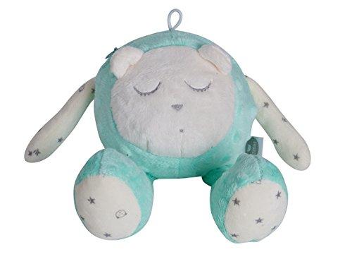 MyHummy schlafendes Maskottchen mit Einschlafhilfe (mint)