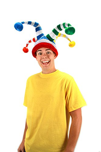 elope Wacky Jester Hat, Multi, One Size