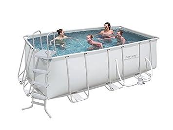 Gut bekannt Bestway 56241 Frame Pool Stahlrahmenbecken Set 412 x 201 x 122 cm QA76