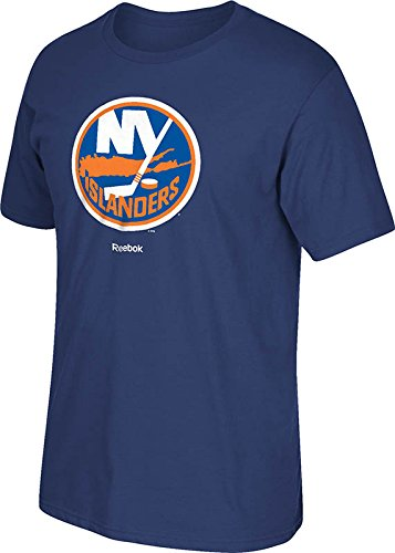 new styles b3960 dfaac Reebok New York Islanders Navy Primary Logo T-Shirt