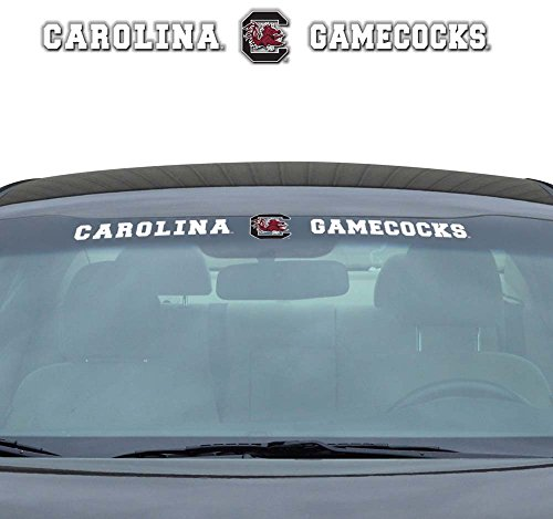 (NCAA South Carolina Windshield Decal, One Size, One Color)