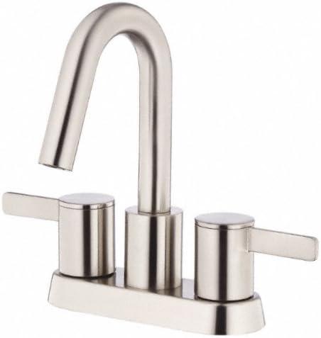 Danze D301030BN Amalfi Two Handle Centerset Lavatory Faucet, Brushed Nickel
